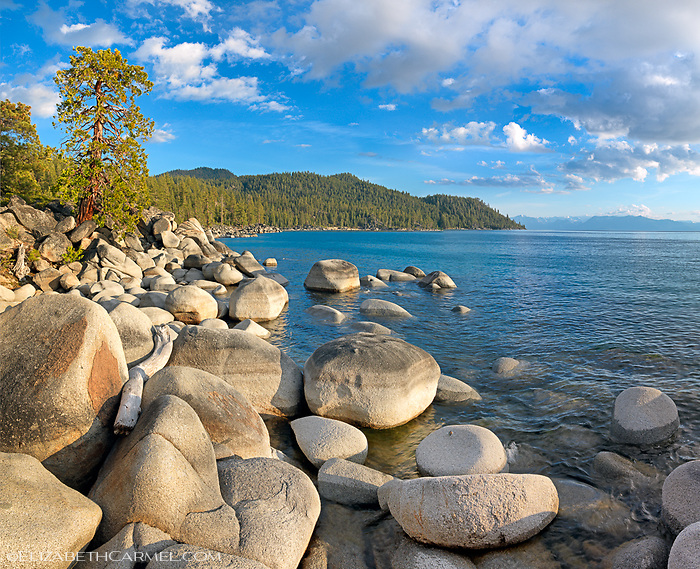 Spring Evening, Lake Tahoe