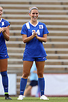 21 August 2015: Duke's Morgan Reid. The Duke University Blue Devils played the Fresno State Bulldogs at Fetzer Field in Chapel Hill, NC in a 2015 NCAA Division I Women's Soccer game. Duke won the game 5-0.