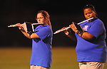 The Water Valley band plays at halftime vs. Coffeeville in Water Valley, Miss. on Friday, August 26, 2011.