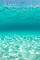 Clear Caribbean water<br /> Honeymoon Beach<br /> Virgin Islands National Park<br /> St. John<br /> U.S. Virgin Islands