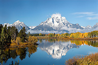 Mount Moran at Oxbow Bend, Grand Teton National Park