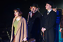 London, UK. 21.02.2014. THE A TO Z OF MRS P has its world premiere at Southwark Playhouse.  The story behind the handy, all-purpose, pocket-sized A-Z Street Guide is written by Diane Samuels (book) and Gwyneth Herbert (music and lyrics). <br />  Starring ISY SUTTIE (Peep Show / Shameless) in her first musical, as the pioneering Mrs P; with Tony Award winner FRANCES RUFFELLE (Les Miserables, Pippin, Piaf) as her emotionally fragile mother; and Olivier Award winner MICHAEL MATUS (Martin Guerre, The Baker's Wife, The Sound Of Music) as Phyllis&rsquo;s beloved and impossible father, the map publisher Sandor Gross. Directed by Sam Buntrock. Picture shows: Isy Suttie (Mrs P), Michael Matus, Stuart Matthew Price, Frances Ruffelle. <br /> Photograph &copy; Jane Hobson.