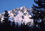 Mt. Tallac in winter