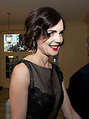 Elizabeth Lee McGovern arrives for the Official Dinner in honor of Prime Minister David Cameron of Great Britain and his wife, Samantha, at the White House in Washington, D.C. on Tuesday, March 14, 2012..Credit: Ron Sachs / CNP.(RESTRICTION: NO New York or New Jersey Newspapers or newspapers within a 75 mile radius of New York City)