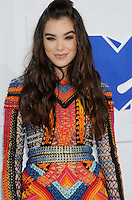 NEW YORK, NY - AUGUST 28  Hailee Seinfeld  attend the 2016 MTV Video Music Awards at Madison Square Garden on August 28, 2016 in New York City Credit John Palmer / MediaPunch