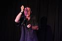 Edinburgh, UK. 20.08.2013. Mark Thomas presents 100 ACTS OF MINOR DISSENT as part of the Edinburgh Festival Fringe. Photograph © Jane Hobson.