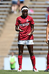24 August 2014: Stanford's Chioma Ubogagu. The Duke University Blue Devils played the Stanford University Cardinal at Fetzer Field in Chapel Hill, NC in a 2014 NCAA Division I Women's Soccer match. Stanford won the game 2-0.