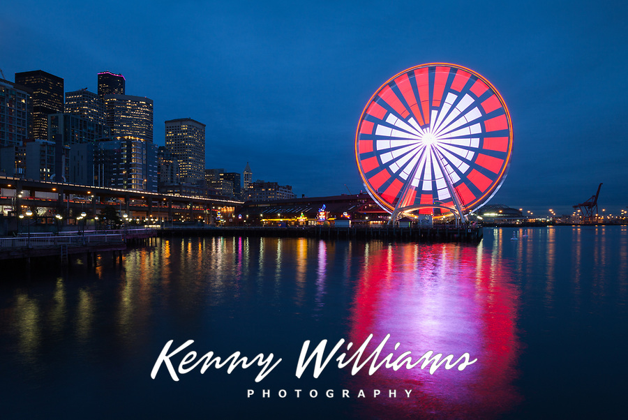 Seattle Great Wheel Stock Photos
