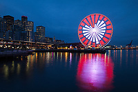 Seattle Great Wheel Stock Photos