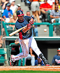 12 March 2009: Atlanta Braves' infielder Yunel Escobar in action during a Spring Training game against the Washington Nationals at Disney's Wide World of Sports in Orlando, Florida. The Braves defeated the Nationals 6-2 in the Grapefruit League matchup. Mandatory Photo Credit: Ed Wolfstein Photo