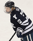 Tommy Fallen (Yale - 22) - The Boston College Eagles tied the visiting Yale University Bulldogs 3-3 on Friday, January 4, 2013, at Kelley Rink in Conte Forum in Chestnut Hill, Massachusetts.