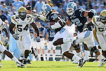 08 November 2008: North Carolina's Ryan Houston (32). The University of North Carolina Tarheels defeated the Georgia Tech University Yellow Jackets 28-7 at Kenan Stadium in Chapel Hill, NC in an NCAA Division I and Atlantic Coast Conference football game.