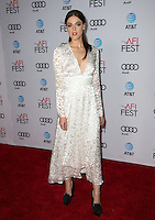 LOS ANGELES, CA. November 15, 2016: Actress Callie Hernandez at the gala screening for her movie &quot;La La Land&quot;, part of the AFI FEST 2016, at the TCL Chinese Theatre, Hollywood.<br /> Picture: Paul Smith/Featureflash/SilverHub 0208 004 5359/ 07711 972644 Editors@silverhubmedia.com