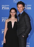 JAN 29 30th SBIFF Cinema Vanguard Award to Eddie Redmayne and Felicity Jones CA
