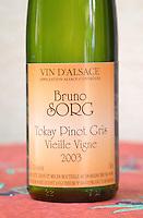 tokay pinot gris vieille vigne 2003 dom bruno sorg eguisheim alsace france