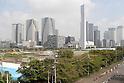 Harumi waterfront - venue for Tokyo Olympics athletes' village