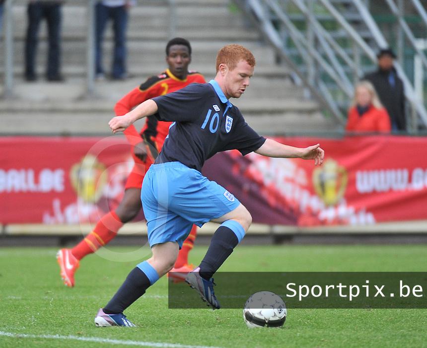 Belgium U19 - England U19 : Adam Campbell.foto DAVID CATRY / Nikonpro.be