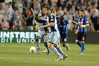 KANSAS CITY, KS - June 1, 2013:<br /> Jacob Peterson (37) Sporting KC in action.<br /> Montreal Impact defeated Sporting Kansas City 2-1 at Sporting Park.