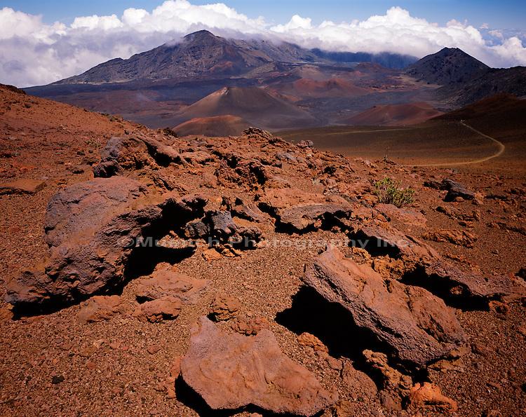 """""""Volcanic bombs, Maui Haleakala National Park, HAWAII"""""""