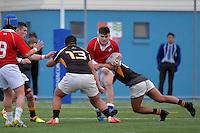 Rugby League - St Pat's Wellington v Wellington College at Evans Bay Art, Wellington, New Zealand on Wednesday  21September 2016.<br /> Photo by Masanori Udagawa. <br /> www.photowellington.photoshelter.com.