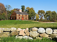 Captain William Smith House, Battle Road Trail between Lexington and Concord, Minute Man National Historical Park, MA, USA