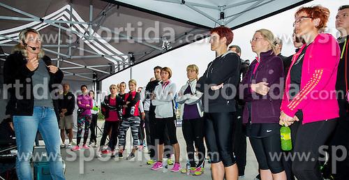Katja Azman Juvan, dr. med, KO za kardiologijo srca in ozilja UKC Ljubljana at Adidas Tekaski kamp 2014, on October 4, 2014 in Celje, Slovenia. Photo by Vid Ponikvar / Sportida.com