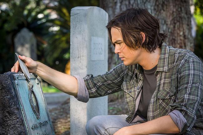 "Tyler Blackburn as Caleb in ABC Family's ""Ravenswood""."