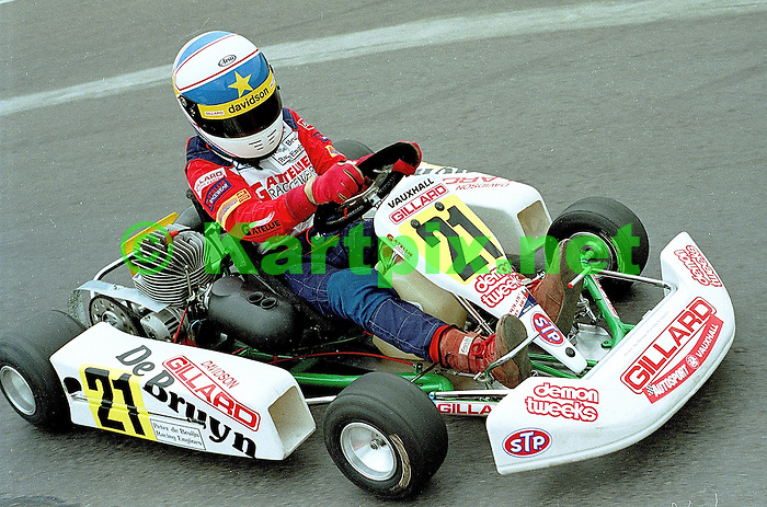 MSA, Junior 100B, Fulbeck, Anthony Davidson, Karting.