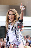 Celine Dion Performs on NBC's Today Show Citi Concert Series