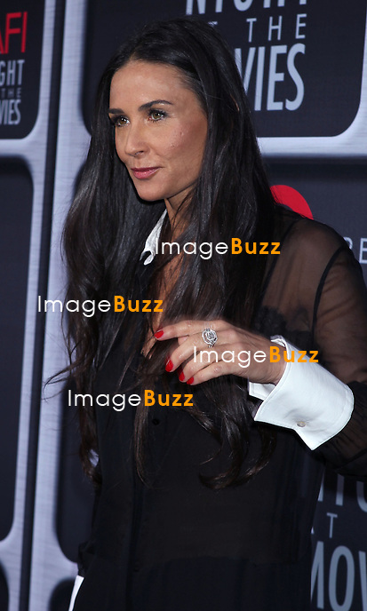 Demi Moore attends, Target Presents AFI's Night at the Movies at the ArcLight Theatre in Hollywood. Los Angeles, April 24, 2013.