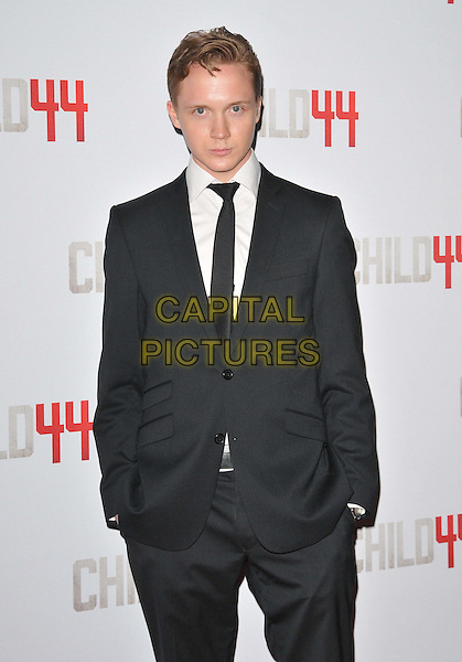 LONDON, ENGLAND - APRIL 16: Anssi Lindstrom attends the &quot;Child 44&quot; UK film premiere, Vue West End cinema, Leicester Square, on Thursday April 16, 2015 in London, England, UK. <br /> CAP/CAN<br /> &copy;Can Nguyen/Capital Pictures