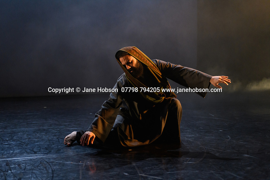 """Salah el Brogy Company presents """"Letting Go"""", choreographed, and danced, by Salah el Brogy, as part of the Resolution! festival, 2017, at The Place."""