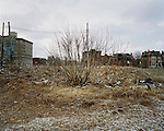 Downtown, near John R. Street, Detroit, Michigan, February, 19, 2009