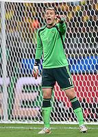 FUSSBALL WM 2014                HALBFINALE Brasilien - Deutschland          08.07.2014 Torwart Manuel Neuer (Deutschland)