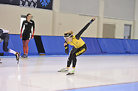 SPEED SKATING: SALT LAKE CITY: 18-11-2015, Utah Olympic Oval, ISU World Cup, training, Sanneke de Neeling (NED), ©foto Martin de Jong