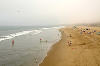 Santa Monica beach on Thursday, September 13, 2012.