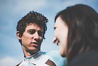 Pictures by Russell Ellis/SWpix.com - 10/04/2016 - Cycling - Paris-Roubaix - France - Paris-Roubaix 2016 -