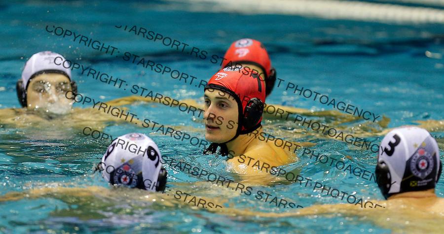 Dimitrije Risticevic Partizan Galatasaraj liga sampiona vaterpolo, 28.11.2015. (credit image & photo: Pedja Milosavljevic / STARSPORT)