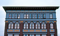 Eureka CA:  Upper Stories of 1890's Office Building.  Photo '83.