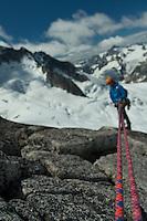 Alpine Climbing West Ridge Pigeon Spire Bugaboo Provincial Park