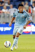 Sporting KC midfielder Jeferson in action... Sporting Kansas City and Newcastle United played to a 0-0 tie in an international friendly at LIVESTRONG Sporting Park, Kansas City, Kansas.