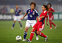 (L to R) Asuna Tanaka (JPN), Qu Shanshan (CHN), September 11, 2011 - Football / Soccer : Women's Asian Football Qualifiers Final Round for London Olympic Match between Japan 1-0 China at Jinan Olympic Sports Center Stadium, Jinan, China. (Photo by Daiju Kitamura/AFLO SPORT) [1045]