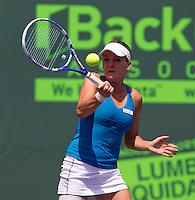 Agnieszka RADWANSKA (POL) against Venus WILLIAMS (USA) in the quarter finals for the women's singles. Venus Williams beat Agnieszka Radwanska 6-3 6-1..International Tennis - 2010 ATP World Tour - Sony Ericsson Open - Crandon Park Tennis Center - Key Biscayne - Miami - Florida - USA - Tue 30th Mar 2010..© Frey - Amn Images, Level 1, Barry House, 20-22 Worple Road, London, SW19 4DH, UK .Tel - +44 20 8947 0100.Fax -+44 20 8947 0117