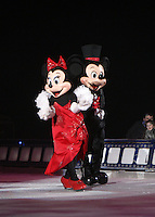 ***** NO FEE PIC*****.26/12/2010.Minnie & Mickey Mouse.during  Disney On Ice : 100 Years of Magic at the Citywest Hotel , Dublin..Disney on Ice runs from 26th December till the 2nd January 2011 with tickets available from Ticketmaster & Box Offices for all shows. .Photo: Gareth Chaney Collins