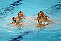 2012 Olympic Games - Synchronized Swimming - Women's Teams Free Routine Final