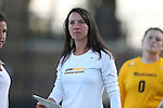 17 September 2015: ASU assistant coach Brittany Bolick. The Duke University Blue Devils hosted the Appalachian State University Mountaineers at Koskinen Stadium in Durham, NC in a 2015 NCAA Division I Women's Soccer match. Duke won the game 6-0.