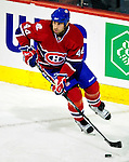 22 March 2010: Montreal Canadiens' defenseman Roman Hamrlik in action against the Ottawa Senators at the Bell Centre in Montreal, Quebec, Canada. The Senators shut out the Canadiens 2-0 in their last meeting of the regular season. Mandatory Credit: Ed Wolfstein Photo