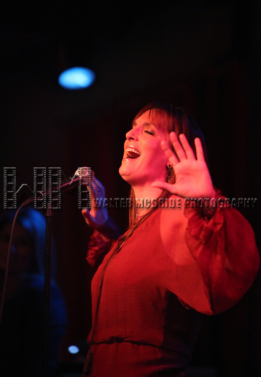 Julia Murney.performing at 'Broadway Belts for PFF!' A fundraiser benefitting The Michael Kuchwara Fund for the Pulmonary Fibrosis Foundation at Birdland on February 27, 2012 in New York City.
