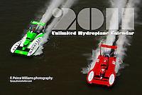 2011 Unlimited Hydroplane Calendar