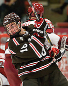 Ryan Jacobson (Brown - 18) - The Harvard University Crimson defeated the visiting Brown University Bears 3-2 on Friday, November 2, 2012, at the Bright Hockey Center in Boston, Massachusetts.
